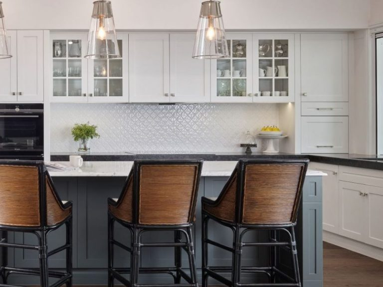Kitchen joinery by Hassum and Levitt featured in House and Gardens Magazine