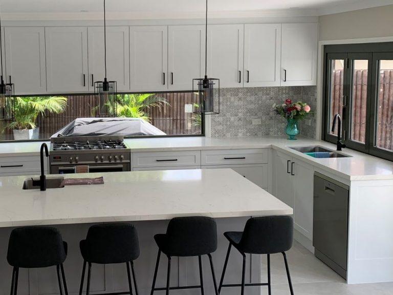 kitchen USING NIPOL SUPPLIES