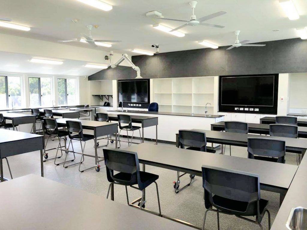 WOODFORD STATE SCHOOL SCIENCE LAB 1